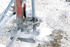 Trading in drilling and blasting services.